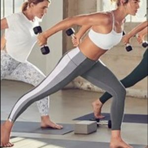 Athleta Colorblock 7/8 Leggings